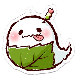 春だよ☆おばけちゃん/アクリルキーホルダー