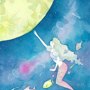 挿絵本「人魚の月」