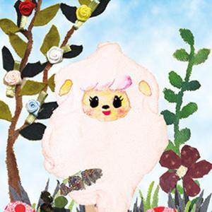 ■ポストカード■ 羊