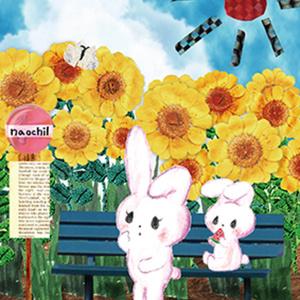 ■ポストカード■ 夏のバス停