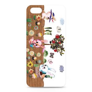iPhone5ケース 「うさぎの畑」 by なおちる