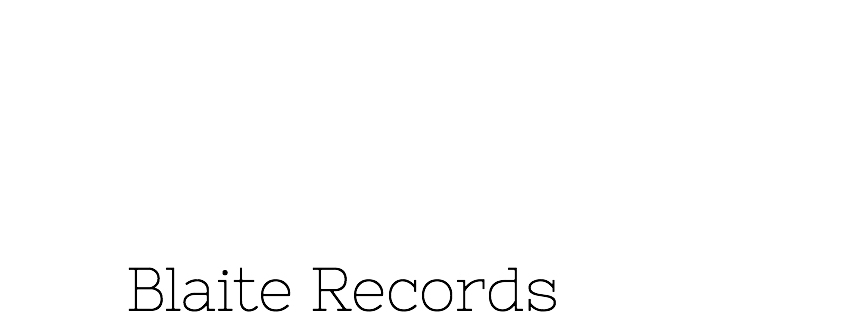 Blaite Records Official Online Shop