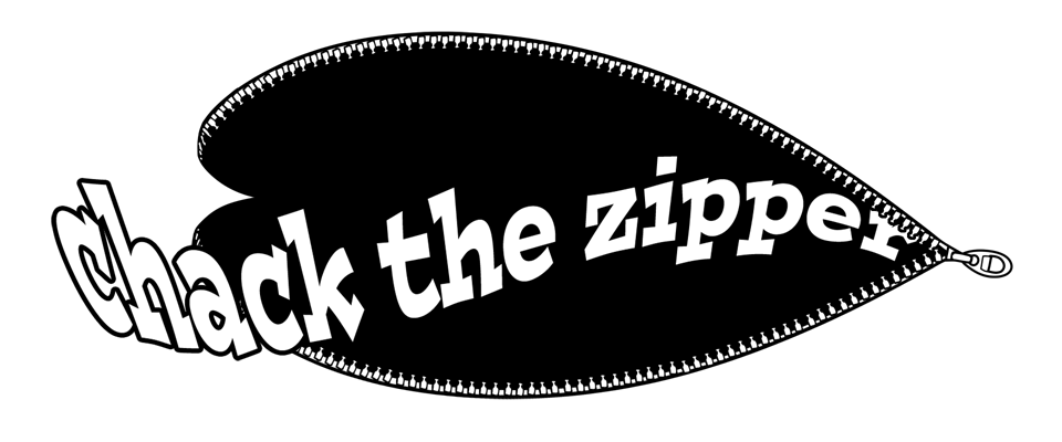 chack the zipper