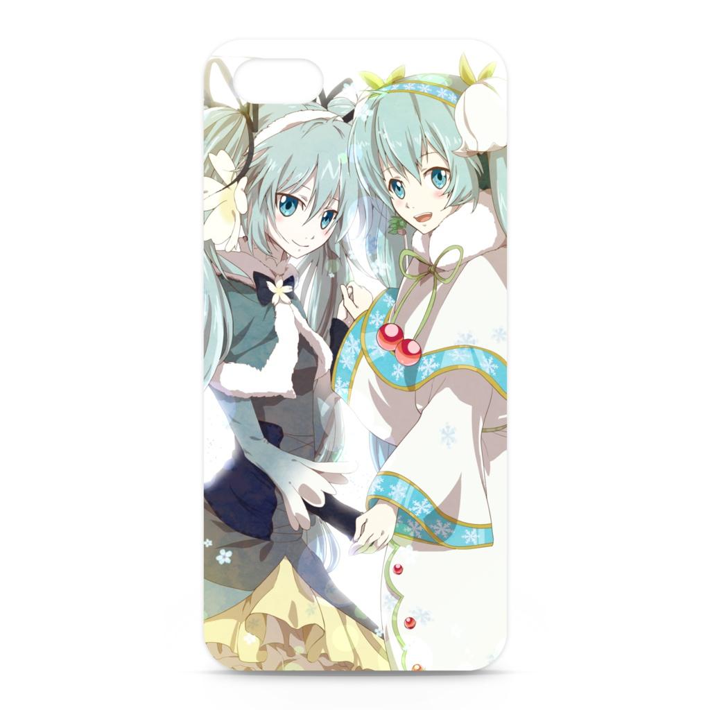 雪ミクiPhoneケース