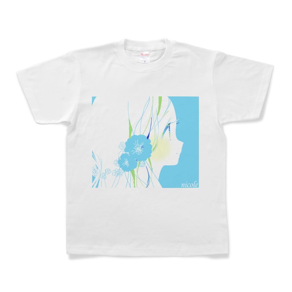少女(Blue)Tシャツ